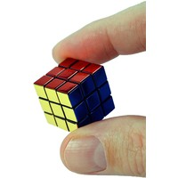 WORLD'S SMALLEST RUBIK'S CUBE 40TH ANNIVERSARY METALLIC