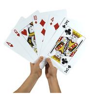 "JUMBO PLAYING CARDS 8.5""x11"""