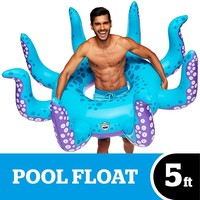POOL FLOAT GIANT OCTOPUS 5'