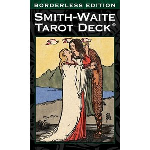 US GAMES SYSTEMS TAROT SMITH-WAITE BORDERLESS