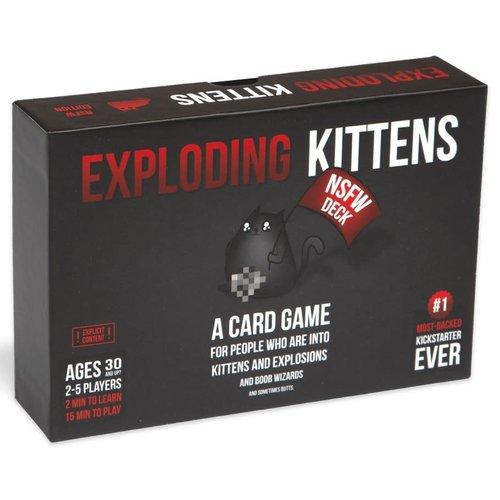 Exploding Kittens Inc. EXPLODING KITTENS: NSFW EDITION