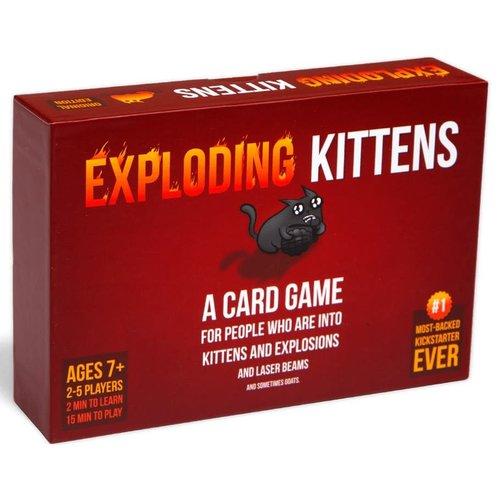 Exploding Kittens Inc. EXPLODING KITTENS: ORIGINAL EDITION (STANDARD BOX)
