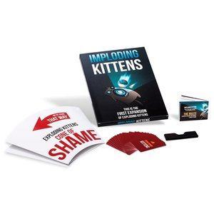 Exploding Kittens Inc. EXPLODING KITTENS: IMPLODING KITTENS EXPANSION