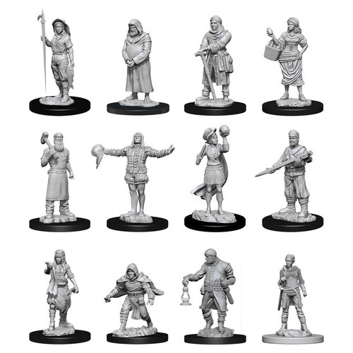 Wizkids MINIS: DEEP CUTS: TOWNSPEOPLE & ACCESSORIES