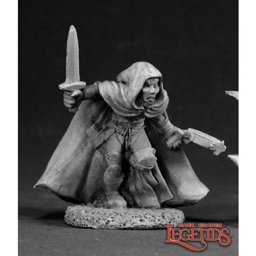 Reaper Miniatures DARK HEAVEN LEGENDS: DARNATH, MALE ELF THIEF