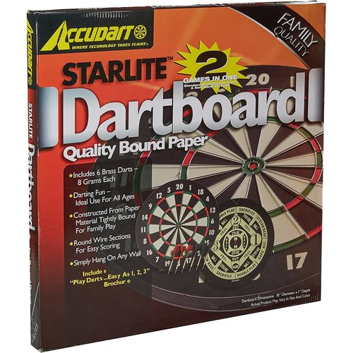 ESCALADE SPORTS DARTBOARD STARLITE PAPER