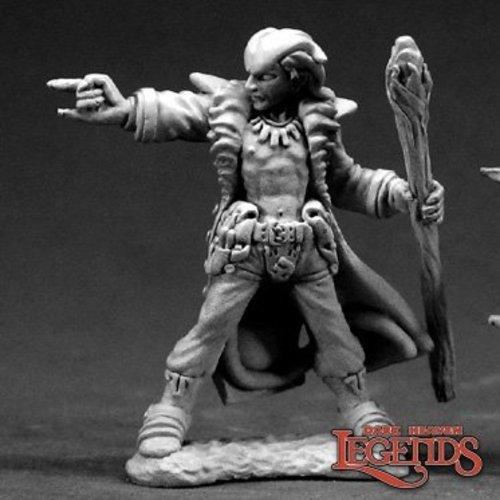 Reaper Miniatures DARK HEAVEN LEGENDS: DAMIEN, HELLBORN WIZARD