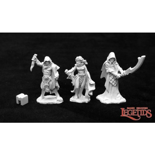 Reaper Miniatures DARK HEAVEN LEGENDS: CULTIST MINIONS OF THE CRAWLING ONE (3)