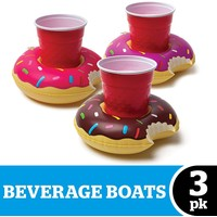 BEVERAGE BOAT FROSTED DONUTS