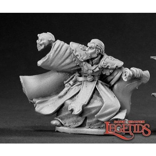Reaper Miniatures DARK HEAVEN LEGENDS: CALLUS DARKLORE, NECROMANCER