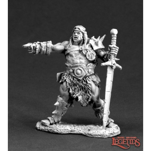 Reaper Miniatures DARK HEAVEN LEGENDS: CAL ARATH, BARBARIAN PRINCE