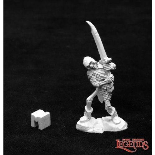 Reaper Miniatures DARK HEAVEN LEGENDS: BOG SKELETON WITH TWO-HANDED SWORD