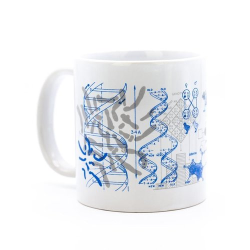 COGNITIVE SURPLUS MUG: GENETICS & DNA
