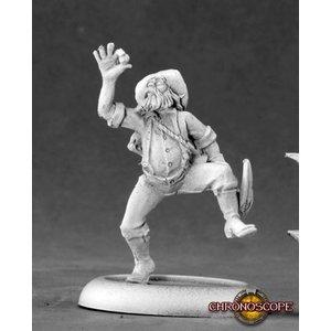 Reaper Miniatures CHRONOSCOPE: CRAZY PETE PROSPECTOR