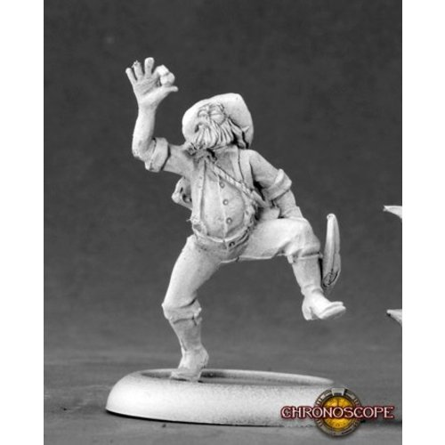 Reaper Miniatures CHRONOSCOPE: CRAZY PETE PROSPECTOR
