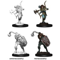 MINIS: PF: ELF MALE FIGHTER (MACE & AXE)
