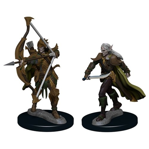 Wizkids MINIS: PF: ELF MALE FIGHTER