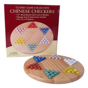 JOHN HANSEN COMPANY CHINESE CHECKERS W/MARBLES