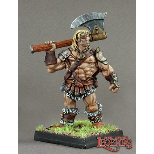Reaper Miniatures DARK HEAVEN LEGENDS: BERTOK, BARBARIAN
