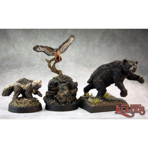 Reaper Miniatures DARK HEAVEN LEGENDS: ANIMAL COMPANIONS I