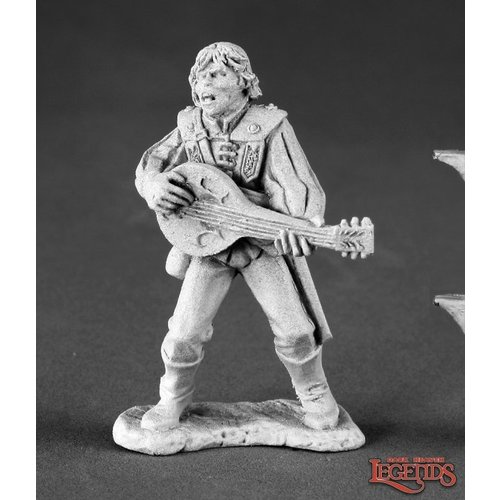 Reaper Miniatures DARK HEAVEN LEGENDS: ALFRED REDLUTE, BARD (SINGING)