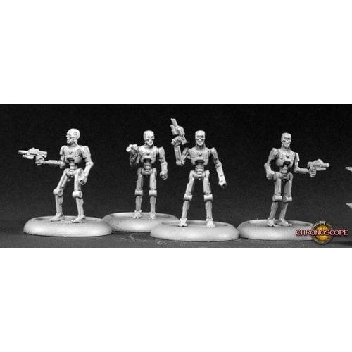 Reaper Miniatures CHRONOSCOPE: CYBER-REAVERS (4)