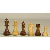 "CHESSMEN 3.75"" MUSTANG SHEESHAM & BOXWOOD"