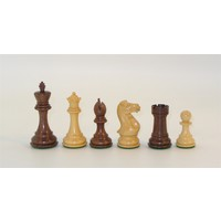 "CHESSMEN 4"" STAUNTON KIKKERWOOD & BOXWOOD TRIPLE WEIGHTED"