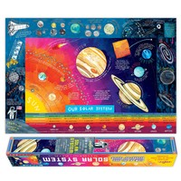 POSTER SOLAR SYSTEM GLOW IN THE DARK