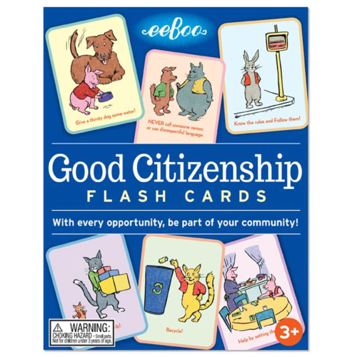 EEBOO FLASH CARDS GOOD CITIZENSHIP