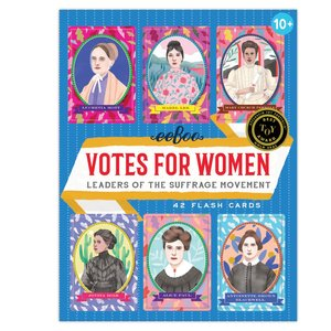 EEBOO FLASH CARDS VOTES FOR WOMEN