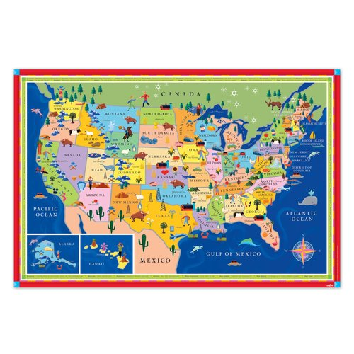 EEBOO MAP UNITED STATES THIS LAND IS YOUR LAND