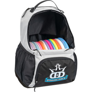 Dynamic Discs CADET DISC GOLF BACKPACK - GRAY