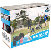 DISC GOLF SET + CADET BACKPACK BLUE