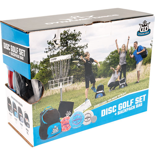 Dynamic Discs DISC GOLF SET + CADET BACKPACK BLUE