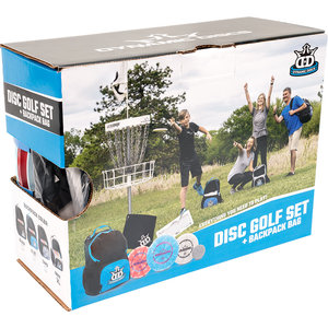 Dynamic Discs DISC GOLF SET + CADET BACKPACK BLACK