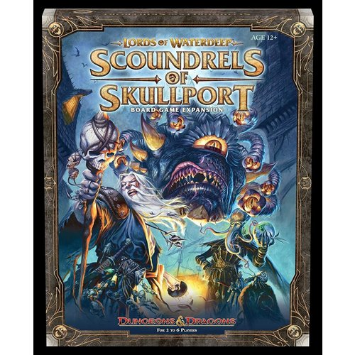 Wizards of the Coast D&D: LORDS OF WATERDEEP BOARD GAME - SCOUNDRELS OF SKULLPORT EXPANSION