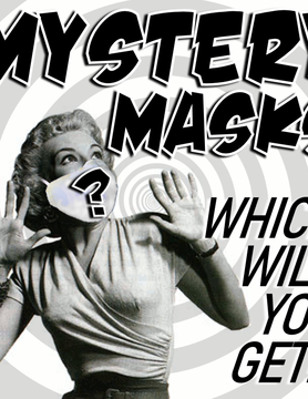 OTHER TIMES PRODUCTIONS PROTECTIVE MASK, FABRIC (MYSTERY ASSORTMENT)