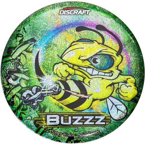 Discraft BUZZZ SC FF CHAINS GREEN SPARKLE
