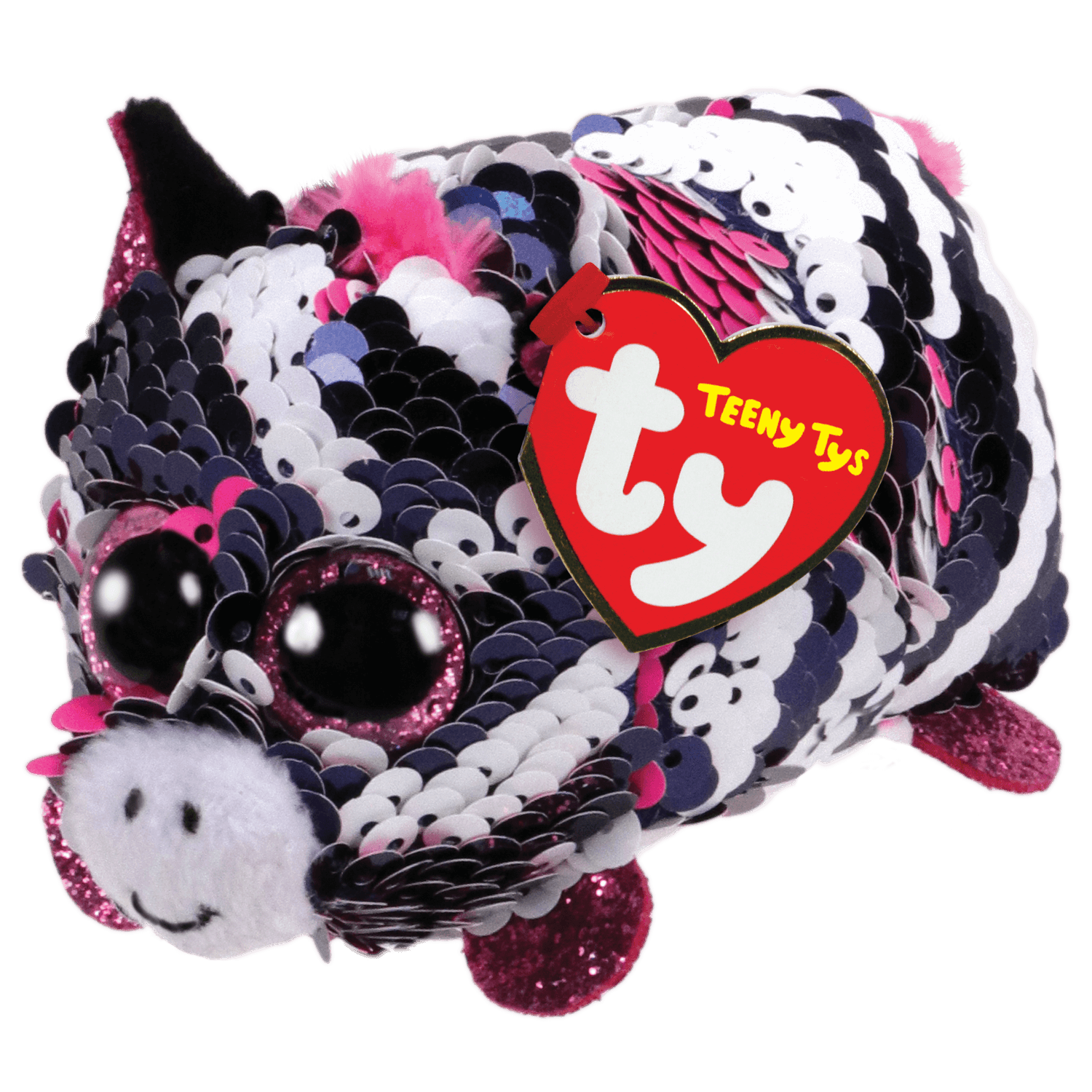 TY INC TY TEENY ZEBRA ZOEY (SEQ)