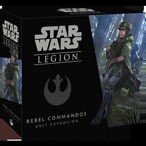 Fantasy Flight Games STAR WARS: LEGION - REBEL COMMANDO UNIT