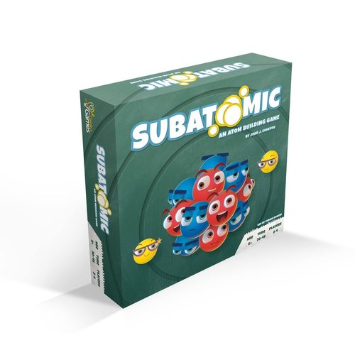 Genius Games SUBATOMIC: AN ATOM BUILDING GAME - 2ND EDITION