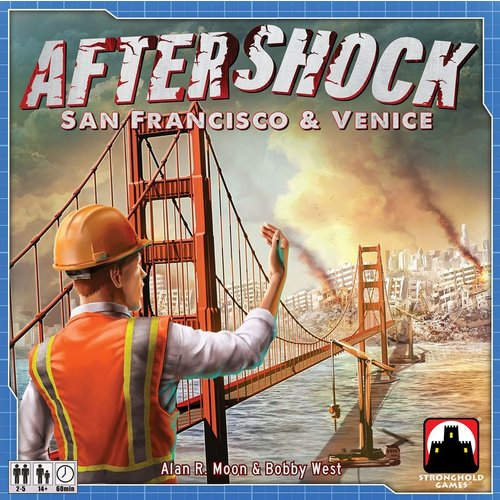Stronghold Games AFTERSHOCK: SAN FRANCISCO & VENICE