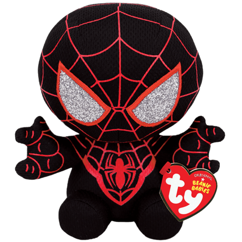 TY INC TY MARVEL SPIDER-MAN MILES MORALES