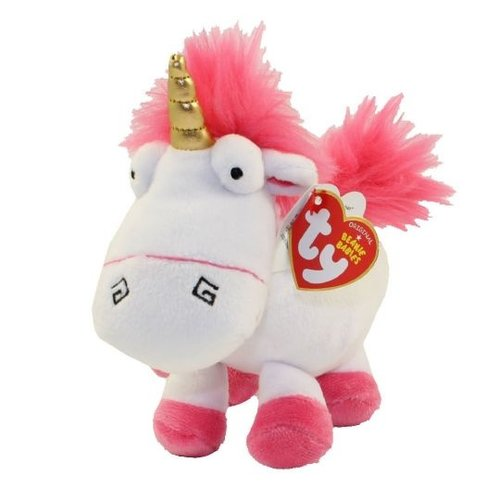 TY INC TY DESPICABLE ME 3 FLUFFY THE UNICORN