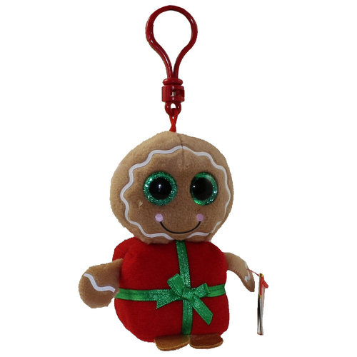 TY INC TY BEANIE BOO GINGERBREAD SWEETSY (CLIP)