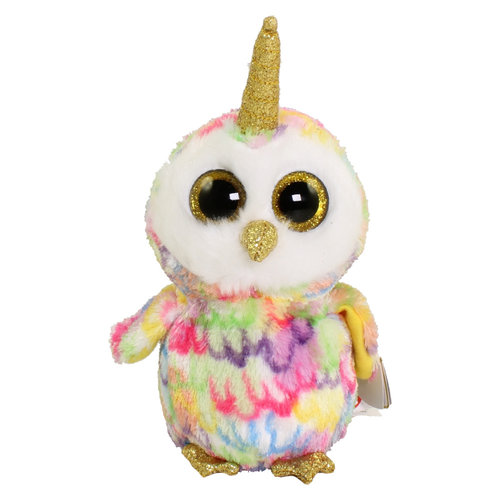 TY INC TY BEANIE BOO OWLCORN ENCHANTED