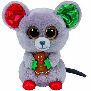 TY INC TY BEANIE BOO MOUSE MAC