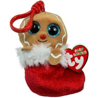 TY BEANIE BOO GINGERBREAD JINGLY (CLIP)