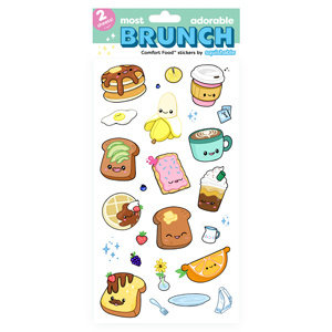 SQUISHABLE SQUISHABLE BRUNCH STICKERS
